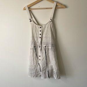 Damir Doma Top blouse polka dot black white small